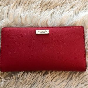 Kate Spade button closure wallet